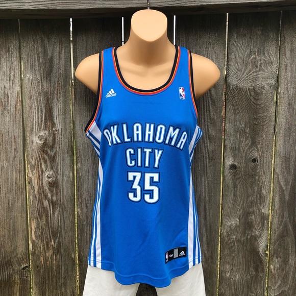 573ea132fa0e7 adidas Tops | Okc Thunder Nba Kevin Durant 35 Jersey Sz S | Poshmark